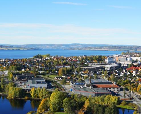 Hamar, Norway - Vikingeskipet
